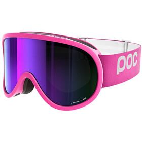 POC Retina Ethylene Pink w/Grey/Purple Mirror